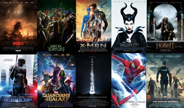 Superheroes, Movies & Superhero Movies – Episode 012 – Top 10 Most Anticipated Movies of 2014