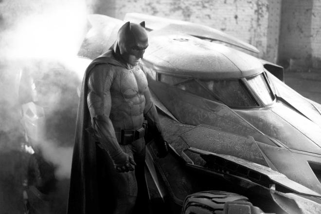 Superman vs Batman Batman Suit Ben Affleck Brightened