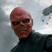 Capt America Red Skull