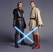 Star Wars Ep 3 Anakin and ObiWan