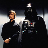 Star Wars Ep 6 Vader and Luke