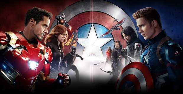 Superheroes, Movies & Superhero Movies – Episode 050 – Captain America: Civil War [2016]
